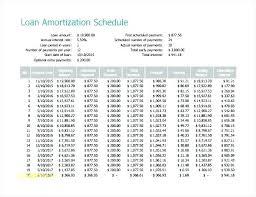 Loan Schedule Excel Template Amortization Schedule Excel Template Loan Table Repayment In