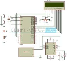 interfacing gps microcontroller atc circuit in this interfacing of gps 8051 circuit gps module calculates the position by reading