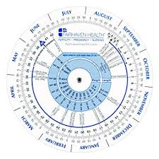 Period Cycle Pregnancy Chart Pregnancy Wheel And Ovulation Calendar Ideal For Patients Nurses Doctors And Midwives
