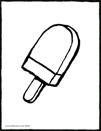 Winkelverpakking Mini Ijsjes Kiddicolour For Kleurplaat Ijsjes