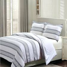 white duvet cover set covers stripes gray cotton 3 latest canada