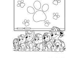Tuyển tập các bức tranh tô màu chó cứu hộ siêu ngầu cho bé