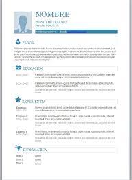 Curriculum Vitae Word Para Completar Modelos De En Foto 8