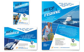 Fishing Tournament Flyer Template Fishing Flyers Insaat Mcpgroup Co
