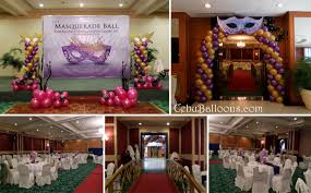 Masquerade Ball Decorations Ideas Mardi Gras Masquerade Cebu Balloons and Party Supplies 34