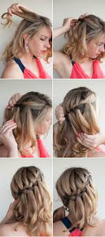 How To Make A Hair Style fashion water fall braid hair style 3515 by wearticles.com