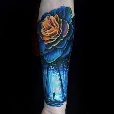 70 Barevné Tetování Pro Muže živé Inkoustové Nápady