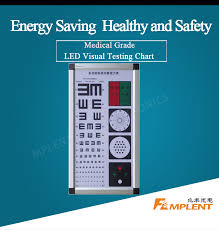E Chart Test Led Visual Chart Multi Function Light Box Quality Ophthalmic Testing Snellen Acuity E Chart Optometry Instrument Eye Test Chart Buy Led Visual Chart