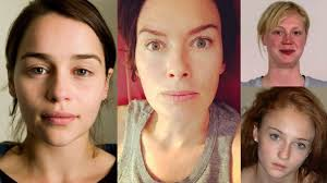 game of thrones without makeup