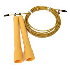 3m <b>adjustable speed steel wire</b> jump rope sports skipping crossfit ...