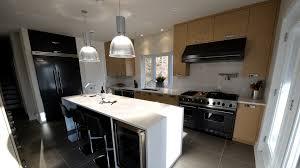 Black And White Modern Kitchen Black White Wood Modern Kitchen Ateliers Jacob Calgary
