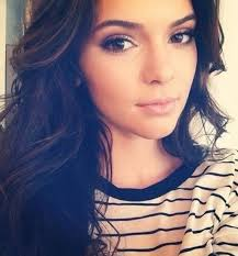 kendall jenner s drop dead gorgeous natural eye makeup look