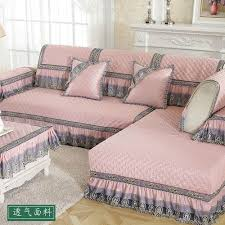 non slip leather sofa cushion cover