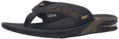 reef fanning prints men s flip flop sandals black gold shoes reef boys shoes authorized dealers