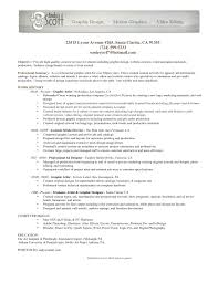 Ideas Of Video Production Resume Resume Example With Additional
