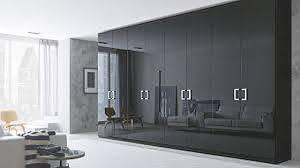 black modern bedroom furniture. Modern Bedroom Furniture Stores With Modern Cupboard Design Using Black  Color And Luxury Models Large