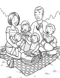 Small Picture Download Printable my family coloring pages Grootfeestinfo