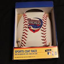 Baseball Coat Rack Fascinating Clearwater Threshers Threshers Baseball Coat Rack