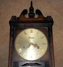 linden wall clock lot of linden day key wind wall clock model with key x x linden