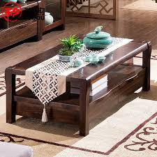 new chinese antique furniture solid wood tea table small rectangular office coffee k9307 double coffee teasideend antique office table