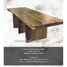 wood furniture pics. Solid Furniture Trembesi Dining Table Contemporery Indonesia Wood Pics A