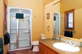 marvelous white one piece shower units glass door design finished in modern with wooden bathroom fiberglass