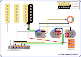 wiring diagram for fender stratocaster guitar wirdig