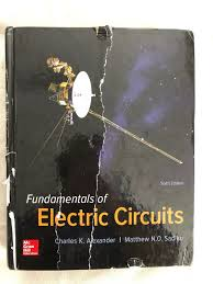 The Analysis And Design Of Linear Circuits 6th Edition Pdf Fundamentals Of Electric Circuits By Charles K Alexander And Matthew Sadiku 2016 Hardcover