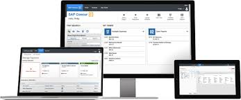jpmorgan chase customer story concur travel and expense software displa on monitors and tablets