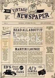 Old Time Newspaper Template Word Best Photos Of Old Time Newsletter Templates Old Newspaper