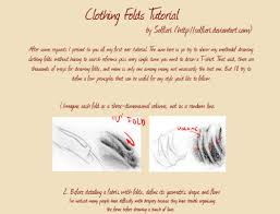 Shirt Folds Reference Always Guilty Helpyoudraw Clothing Folds Tutorial By Solfieri