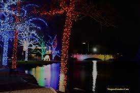 Festival Of Lights Niagara Falls Map Niagara Falls Winter Festival Of Lights