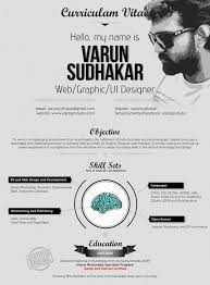 creative graphic designer cv