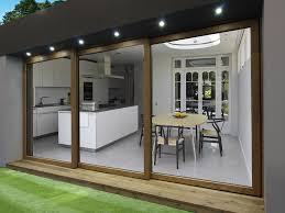 Door  Glass Sliding Doors Exterior Throughout Awesome Home - Bifold exterior glass doors