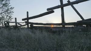 wooden farm fence. A Wooden Farm Fence And Summer Colours, Sunset Stock Video Footage - Videoblocks