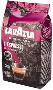 <b>Кофе зерновой LAVAZZA</b> L'espresso <b>gran</b> crema натур. жареный ...