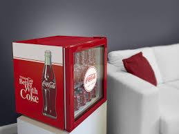 coca cola retro mini glass door bar fridge cool retro design