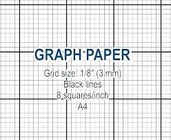 Printable Graph Paper Full Page 1 Inch Square Graph Paper To Print Umbrello Co