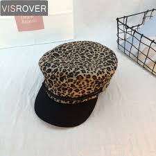 <b>VISROVER</b> New Autumn Winter Hats for Women Animal <b>Leopard</b> ...