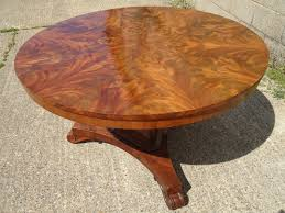 antique round dining table stunning regency circular mahogany segmented top breakfast table to seat six 6 people