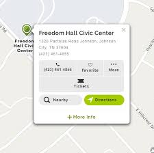 Freedom Hill Seating Chart Welcome To Johnson City Tn