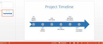 How To Create Timeline Chart In Powerpoint How To Make A Timeline In Powerpoint Smartsheet