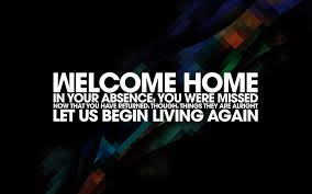 Welcome Quotes Magnificent Welcome Back Home Messages For Husband WishesMsg