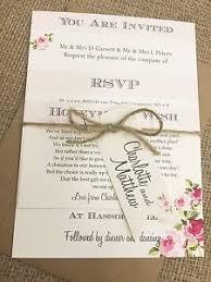 1 vintage shabby chic style & 039;charlotte& 039; wedding Vintage Shabby Chic Wedding Invitations image is loading 1 vintage shabby chic style 039 charlotte 039 buy vintage shabby chic wedding invitations