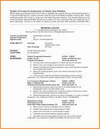 Usajobs Resume Builder Usajobs Resume Template Federal Usajobsgov
