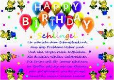 Spruch Geburtstag Kind 17 Geburtstagssprüche Für Kinder Sprüche