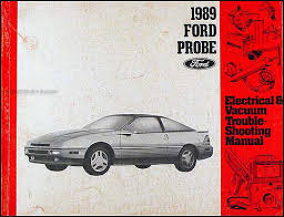 ford probe electrical vacuum troubleshooting manual original