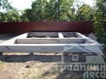 Фундамент для дома из сруба