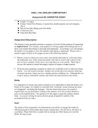 3 5 Essay Format The Narrative Essay