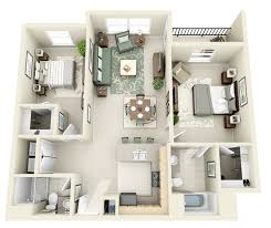 40 Two 40 Bedroom ApartmentHouse Plans Architecture Design New Apartments Floor Plans Design Style